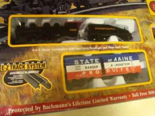 Bachmann RAIL BOSS Complete Ready to Run HO Scale TRAIN SET   NEW