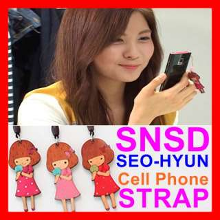 SNSD Girls Generation CellPhone Strap Charm iPhone mate