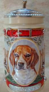ANHEUSER BUSCH Beagle Stein Mans Best Friend Dog CS561
