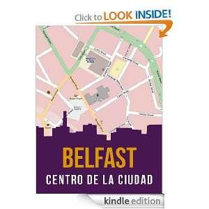 Belfast, Irlanda del Norte mapa del centro de la ciudad (Spanish