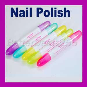 Nail Art Polish Corrector Remover Pen with 15 Tips Easy to Use for