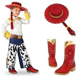 Disney Toy Story 3 Jessie Cowgirl Costume, Boots, Hat