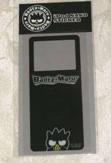 NEW Sanrio Badtz Maru iPod Nano Stickers Cover Black )