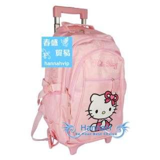 Hello Kitty Luggage Baggage Trolley School Bag FA085 2