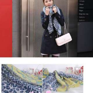 New Style Leopard Chain Lady Girl Long Spring Autumn Scarf Shawl Wrap