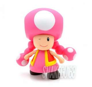 New Super Mario Bros 4TOADETTE Action Figure Toy+MS228