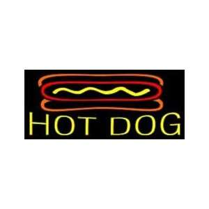 Hot Dog Neon Sign 13 x 30