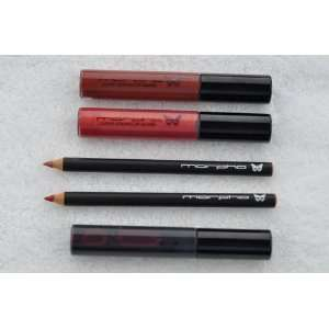 Dragon lip stain, Cho Cho lip gloss, Farfalla lip gloss, Anamu lip