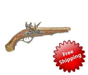 Colonial Napoleonic Double Barrel Non Firing Replica