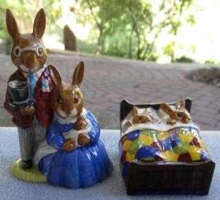 Royal Doulton Bunnykins Sleepytime Babies Figurine