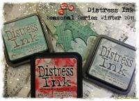 Tim Holtz Seasonal Series Winter 2011 Distress Ink Pads Limited