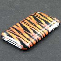FOR APPLE iPHONE 3G S 3GS TIGER SKIN HARD CASE COVER