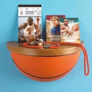 INSTOCK~BASKETBALL Sport Ball Wall Display Shelf Kids Bedroom Room