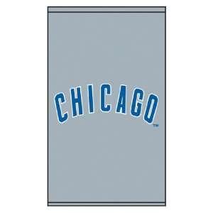 Roller & Solar Shades MLB Chicago Cubs Jersey Logo   Grey