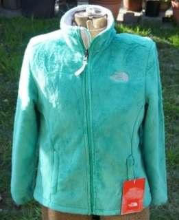 North Face WOMENS SMALL OSITO Fleece Jacket Bastille Green NWT