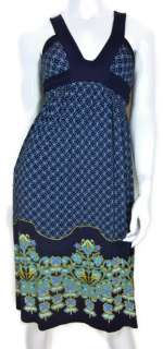 Anthropologie Deletta Dress Size Small Criss Cross Back Tie Waist