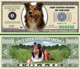 Mans Best Friend K9 Novelty Bills   Set of 25 Bills