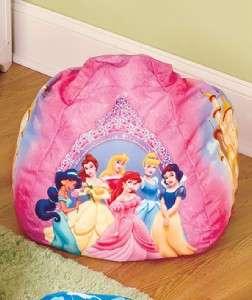 Bean Bag Chair Choose Princess Cars Toy Story Boys Girls Kids chair