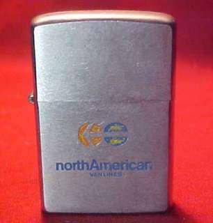 1974 ZIPPO LIGHTER NORTH AMERICAN VAN LINES