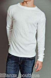 Waffle Knit Light Weight Thermal Top   Long Johns Underwear Shirt