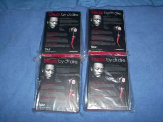 Brand New Monster Beats By Dre Tour In Ear Headphones 050644528552