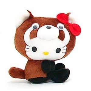Hello Kitty ~5 Firefox (Red Panda) Mini Plush Doll