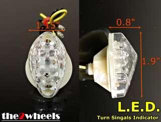 Flush Mount LED Turn Signals for Honda CBR600RR 2003 10