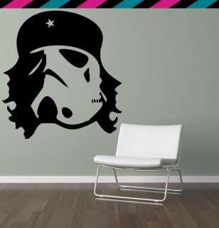 Che Guevara Star Wars Storm Trooper Darth Wall Decal