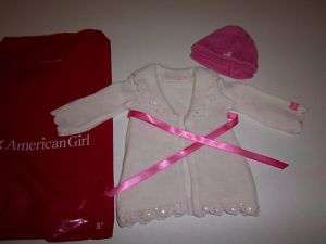 American Girl sweater Coat Set brand new limited rare