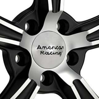 American Racing Authentic Hot Rod BLVD Machined w/Black Accent