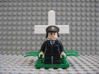 Custom Lego Minifig The Omen Damien Movie Display