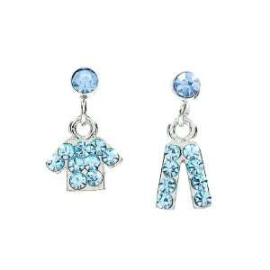 Perfect Gift   High Quality Fancy Clothes and Trousers Earrings with