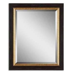 Uttermost 14172 Distressed Black Mirror