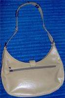 Authentic Guess Light Brown Leather Handbag Purse