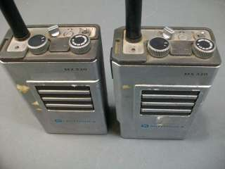Pair of Motorola MX 330 Handie Talkie FM Radios