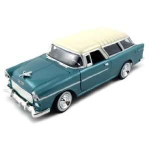 Chevrolet Nomad Diecast Car Model 1/24 Green Die Cast Car by Motormax
