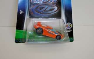 Chicane is #4 of 9 cars on the Hot Wheels Acceleracers Teku team. The