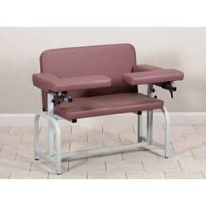 Extra wide blood drawing chair with flip arms Health