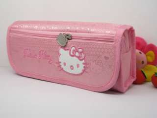 hello kitty sanrio pencil bag case purse cosmetic S1