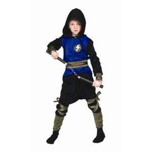 Ninja Ranger   Blue, Child   Large Costume Toys & Games