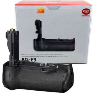 BG E9 BGE9 Multi Power Battery Pack Grip For Canon EOS 60D Camera LP