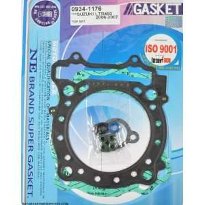 TOP END GASKET KIT SUZUKI LTR450 LTR 450 R 2006 2009: Automotive