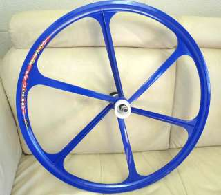 Fixed Gear Mag Wheelset 700c Rims Front & Rear Fixie Bike Single Speed