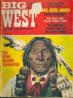 1968 Big West Magazine Jesse James Murdered? Native