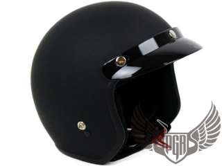 Vintage Style Chopper cafe racer Bobber Motorcycle Helmet Goggle XL