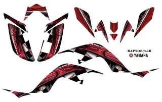 YAMAHA Raptor 700 Atv Laminated Graphic Decal kit 2001R