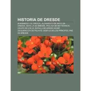 Historia de Dresde Bombardeo de Dresde, Alzamiento de mayo en Dresde
