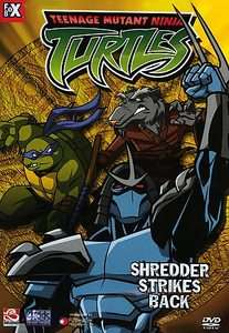 Teenage Mutant Ninja Turtles   Vol. 6 Shredder Strikes Back DVD, 2004