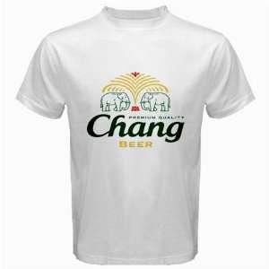Chang Thai Beer Logo New White T Shirt Size  3XL