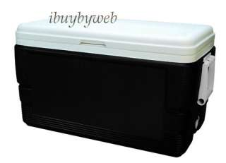 Igloo 6378 48 Qt. Decorator Ice Chest Cooler Black